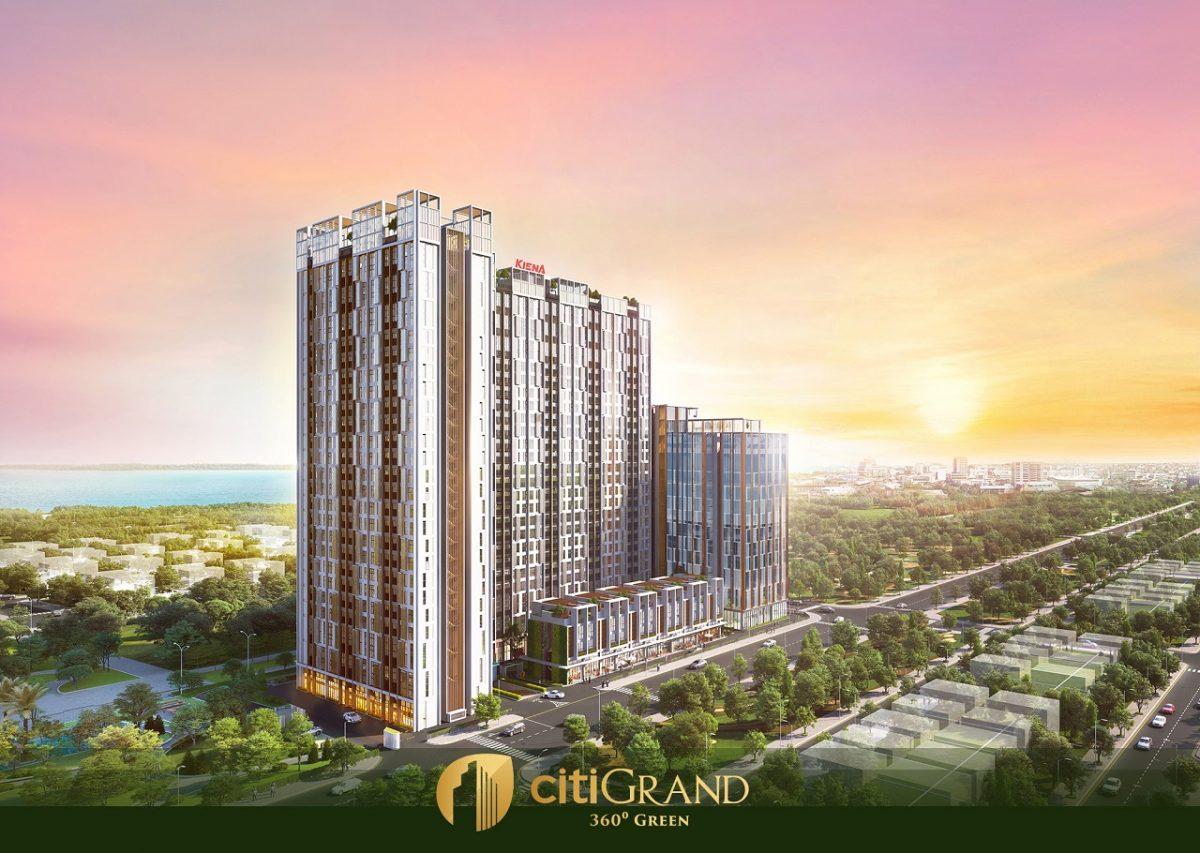 Một phiên bản cao cấp mới mang tính đột phá trong thiết kế kiến trúc và tiện ích ấn tượng, CITIGRAND - Chất lượng cuộc sống bắt đầu từ chính ngôi nhà của bạn